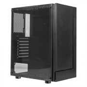 (1023147) Корпус Formula F-33RGB черный без БП ATX 5x120mm 2x140mm 2xUSB2.0 1xUSB3.0 audio bott PSU