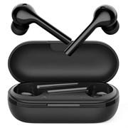 (1023516) Беспроводные наушники CROWN CMTWS-5006 black (Bluetooth 5.0, батарея в кейсе 400мАч, батарея в наушниках 30мАч, время воспроизведения до 18 часов при использовании зарядного чехла, перемотка треков)