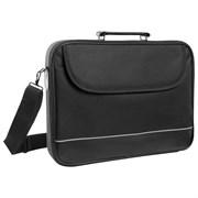 """(1023502) Сумка для ноутбука Defender Ascetic 15""""-16"""" черный, жесткий каркас, карман"""