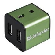 (1023477) Концентратор USB2 4PORT QUADRO IRON 83506 DEFENDER