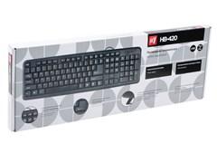 (1023464) Клавиатура Defender HB-420 чёрная USB