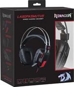 (1023443) Игровая гарнитура Redragon Lagopasmutus 2 красный + черный, кабель 2 м