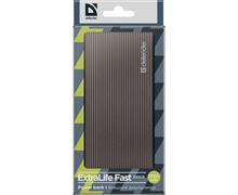 (1023434) Аккумулятор USB 5000MAH 3A EXTRALIFE FAST 83627 DEFENDER