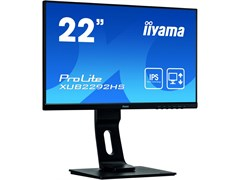 (1023423) Монитор жидкокристаллический Iiyama Монитор LCD 21.5'' [16:9] 1920х1080(FHD) IPS, nonGLARE, 250cd/m2, H178°/V178°, 1000:1, 80M:1, 16.7M, 4ms, VGA, HDMI, DP, Height adj, Tilt, Swivel, Speakers, 3Y, Black