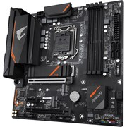 (1023589) Материнская плата Gigabyte B460M AORUS PRO Soc-1200 Intel B460 4xDDR4 mATX AC`97 8ch(7.1) GbLAN RAID