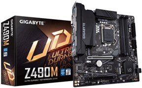 (1023603) Материнская плата Gigabyte Z490M Soc-1200 Intel Z490 4xDDR4 mATX AC`97 8ch(7.1) GbLAN RAID+DVI+HDMI+