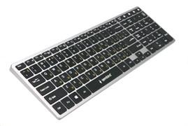(1021461) Клавиатура беспроводная Gembird KBW-2, Bluetooth, 106 кл., ножничный механизм, бесшумная