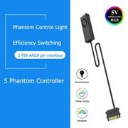 (1023627) Контроллер NNC для RGB подсветки без пульта с кнопкой 3pin 5v