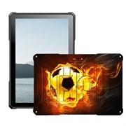"(1021725) Планшетный компьютер BQ-1022L Armor PRO LTE+, print 06 (мяч в огне), 10.1"" IPS 1280*800 (16:10),  4х1.4 GHZ, 2GB+16GB, Android 9.0, 2xMini SIM, 2G/3G/4G LTE, WiFi, Bluetooth, GPS, камеры: 2.0 MP вспышка, + 0.3 MP, Micro SD, FM-радио, виброз"