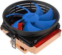 (1023843) PCCooler Q100M V2 Кулер S775/115X/AM2/AM3/AM4/FM1/FM2 (60 шт/кор, TDP 75W, вент-р 100мм с PWM, 1200-2000RPM, 16-20dBa) Retail Color Box