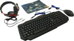 (1023888) Игровой набор Target MKP-350 мышь+клавиатура+гарнитура+ков. DEFENDER