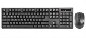 (1023884) Набор клавиатура и мышь Defender#1 беспроводные черные (2.4 ГГЦ, USB, 1 х AA + 2 х AA, 1200 dpi, C-915 RU)