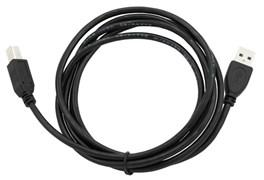 (1023875) Кабель USB 2.0 Pro Cablexpert AM/BM, 1.8м, экран, черный, пакет