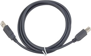 (1023872) Кабель USB 2.0 Pro Cablexpert, AM/BM, 1.8м, экран, серый
