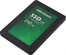 """(1023814) Твердотельный накопитель SSD 2.5"""" HIKVision 240GB С100 Series <HS-SSD-C100/240G> (SATA3, up to 550/450MBs, 3D TLC, 80TBW)"""