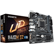 (1023634) Материнская плата Gigabyte H410M S2 Soc-1200 Intel H410 2xDDR4 mATX AC`97 8ch(7.1) GbLAN+VGA