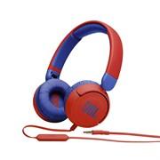 (1024024) Гарнитура накладные JBL JR 310 1м красный/синий проводные (JBLJR310RED)