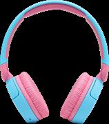 (1024023) Гарнитура накладные JBL JR 310 1м голубой/розовый проводные (JBLJR310BLU)
