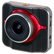 (1024017) Видеорегистратор Pioneer VREC-100CH черный 1296x2304 1080p 125гр. GPS MSTAR MSC8328