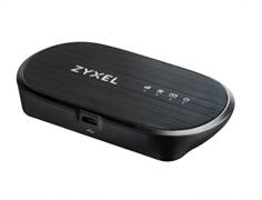 (1024051) Модем 2G/3G/4G Zyxel WAH7601-EUZNV1F micro USB Wi-Fi Firewall +Router внешний черный