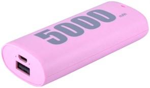 (1019113) Аккумулятор внешний резервный REMAX E5 RPL-2 5000mAh (pink)