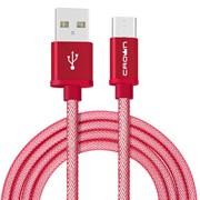 (1022690) Кабель Crown USB - USB Type-C CMCU-3103C red