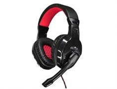 (1014622) Наушники с микрофоном Oklick HS-L320G Phoenix черный 1.9м мониторы (NO-3000)