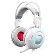 (1007174) Наушники с микрофоном A4 Bloody G300 белый мониторы