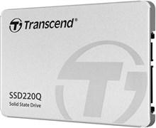 "(1024280) Твердотельный накопитель Transcend TS500GSSD220Q SSD 500GB, 2.5"" SSD, SATA3, QLC"