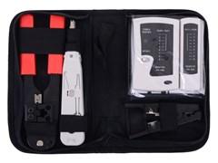 (1024342) Набор инструментов Cablexpert TK-NCT-01 для работы с локальной сетью