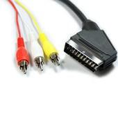(1024340) Кабель аудио/видео Cablexpert, SCART / 3xRCA, 1.8м
