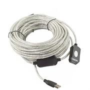 (1024330) VCOM VUS7049-25M Кабель-адаптер USB2.0-repeater, удлинительный активный <Am-->Af> 25м