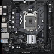 (1024433) Материнская плата Asrock H470M-HVS Soc-1200 Intel H470 2xDDR4 mATX AC`97 8ch(7.1) GbLAN+VGA+HDMI
