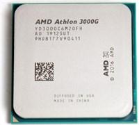 (1024430) Процессор AMD Athlon 3000G AM4 (YD3000C6FHMPK) (3.5GHz/100MHz/ Vega 3) Multipack