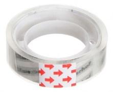 (1024427) Клейкая лента канцелярская Silwerhof 481057 прозрачная шир.18мм дл.10м 35мкр полипропилен спайка