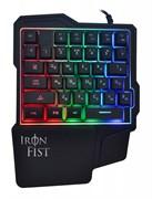 (1023624) Игровой блок Oklick 701G IRON FIST черный USB for gamer LED