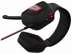 (1024514) Игровая гарнитура Patriot Viper V330 чёрная (Jack 3.5 мм, 40 мм, ПУ)