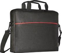 "(1024508) Сумка для ноутбука Lite 15.6"" черный + серый, карман DEFENDER"