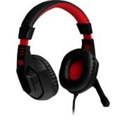 (1024478) Игровая гарнитура Ares красный + черный, кабель 2 м Redragon