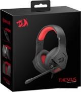 (1024476) Игровая гарнитура Theseus красный + черный, кабель 2 м Redragon