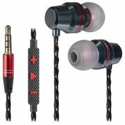 (1024474) Гарнитура для смартфонов Defender Tanto черный+серый, кабель 1,2 м