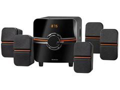 (1024457) Акустическая 5.1 система Cinema 64 64Вт, BT/FM/MP3/SD/USB/LED/RC DEFENDER