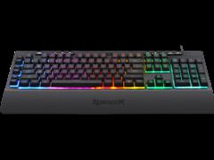(1024532) Проводная игровая клавиатура Shiva RU,RGB, 26 anti-ghost keys Redragon