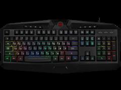(1024533) Проводная игровая клавиатура Harpe Pro RU,RGB, 26 anti-ghost keys Redragon
