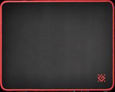 (1024522) Игровой коврик для мыши Defender Black M (360 x 270 x 3 мм, ткань, резина)