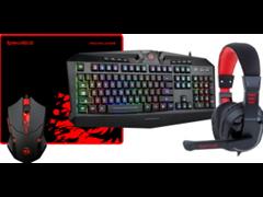(1024526) Игровой набор S101-BA мышь+клавиатура+гарнитура+ков. Redragon