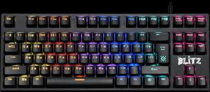 (1024527) Механическая клавиатура Blitz GK-240L RU,Rainbow DEFENDER