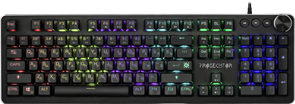 (1024528) Механическая клавиатура Prosecutor GK-370L RU,anti-ghost,радужная DEFENDER