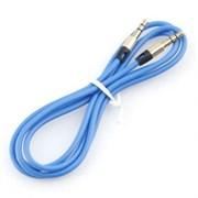 (1024540) Кабель аудио Cablexpert. 3.5 джек (M)/3.5 джек (M), синий. 1м, блистер
