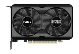 (1024591) Видеокарта Palit PCI-E PA-GTX1650 GP 4G D6 NV GTX1650 4096Mb 128 GDDR6 1410/12000/HDMIx1/DPx2/HDCP R